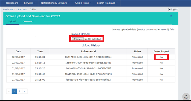 GSTR 1 online filing procedure 23