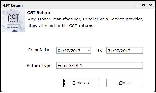 GSTR 1 online filing procedure 8