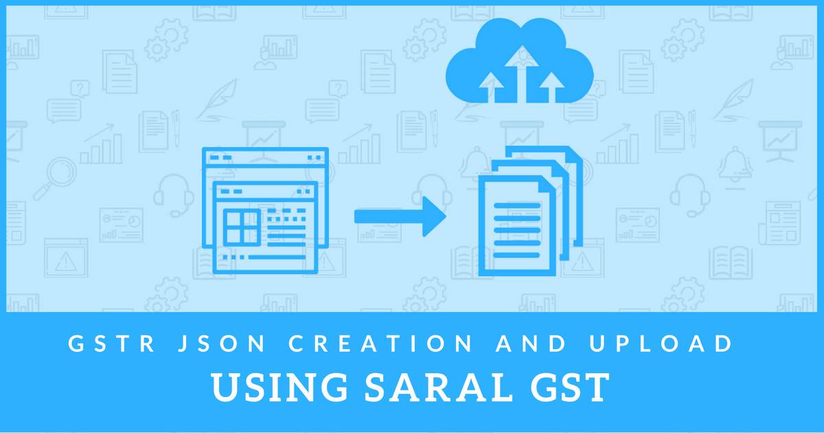 how to create json file for gst