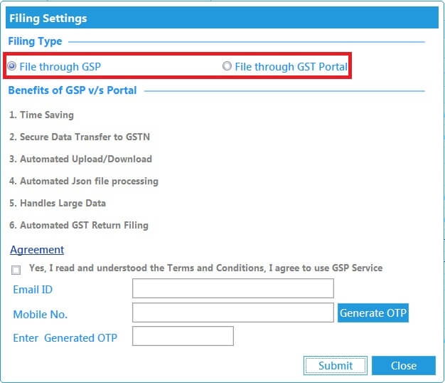 GSTR 2 online filing procedure 3