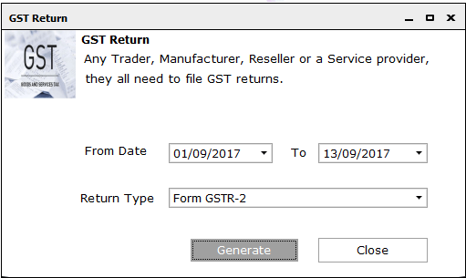 GSTR 2 online filing procedure 9