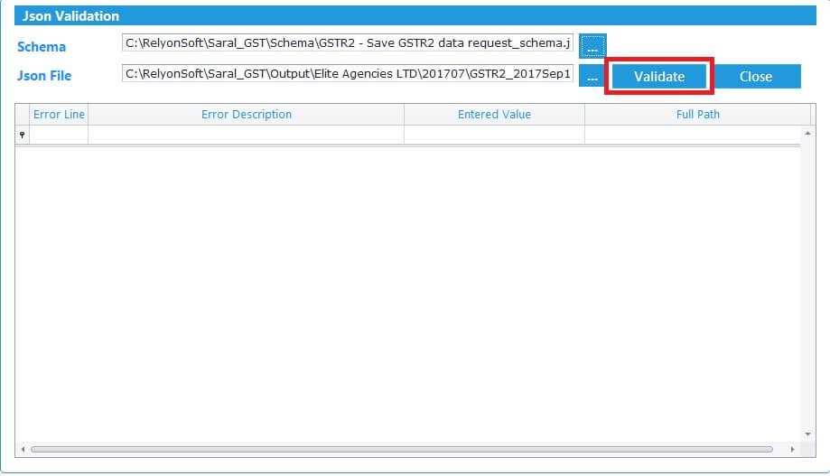 GSTR2 online filing procedure 23