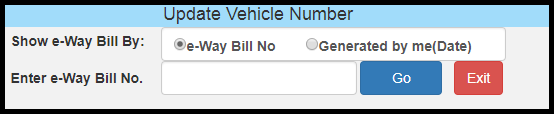 E-way bill generation 16