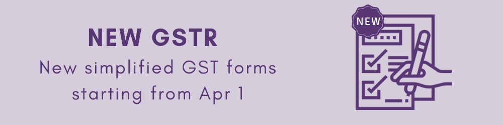 New GST return forms - Normal, Sahaj and Sugam