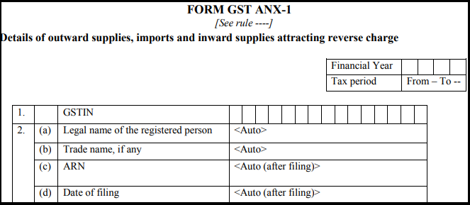 Form GST ANX-1-1