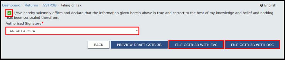 gstr-3b online filing 2