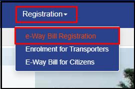 e way bill registration 2
