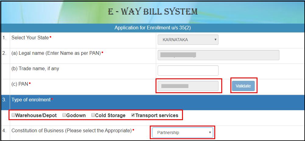 e way bill registration 6