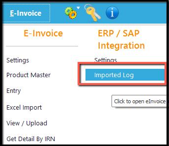 12.Excel integration-Imported Log