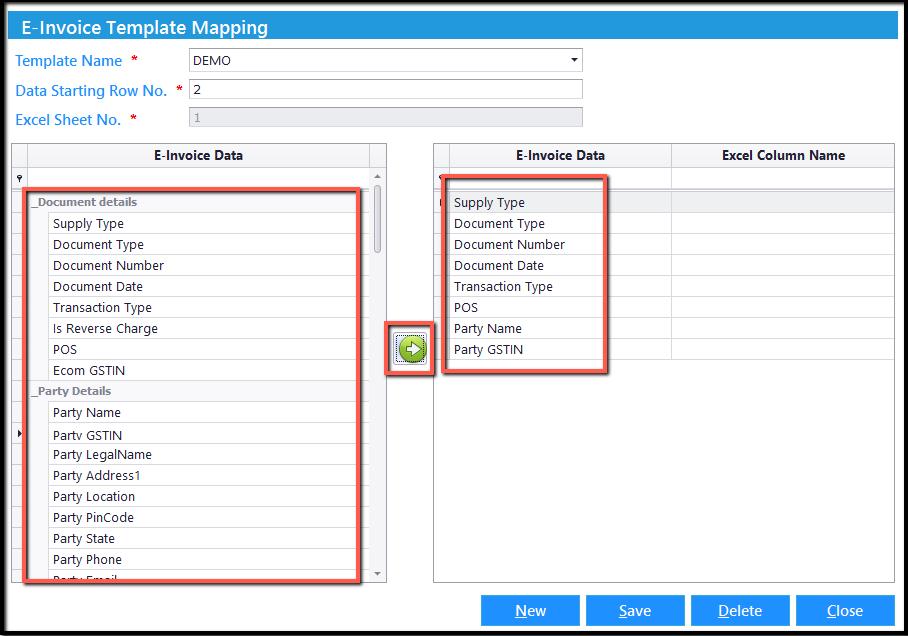 4.Excel integration- data type