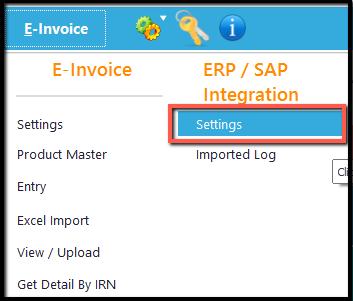 6.Excel integration- e-invoice